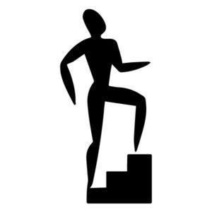 Step Aerobics A LAK 2 2 A Sports Wall Decal