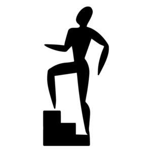 Step Aerobics B LAK 2 2 B Sports Wall Decal