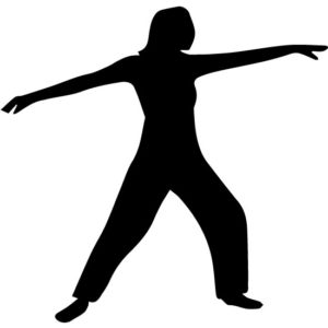 Stretching Out 2A LAK 2 2 K Sports Wall Decal