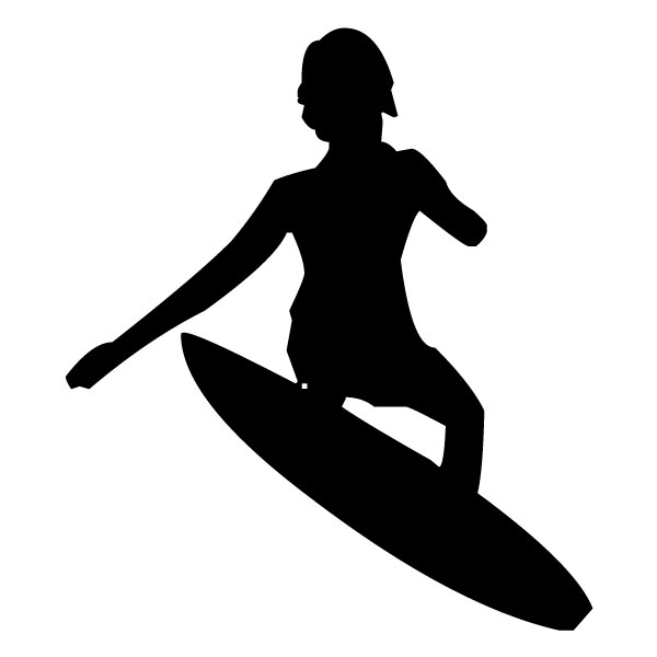 Surfer 2B LAK 28 7 Surfing Wall Decal