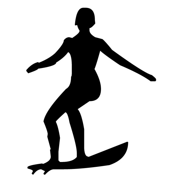 Surfer 3A LAK 28 8 Surfing Wall Decal