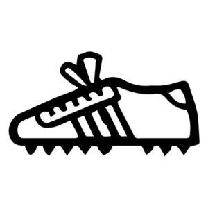 Tennis Shoe B LAK 2 3 G Sports Wall Decal