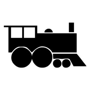 ain Silhouette 1A LAK 11 0 Train Wall Decal