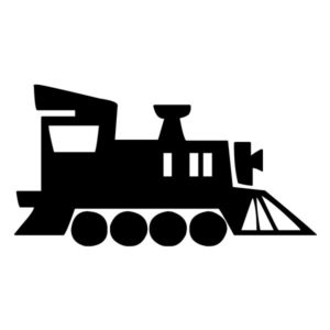 Train Silhouette 2A LAK 11 2 Train Wall Decal