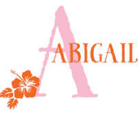 Hibiscus Girls Name Decal