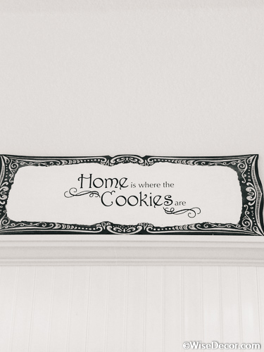 Home is where the cookies are Wall Decal