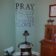 Pray one another Wall Decal