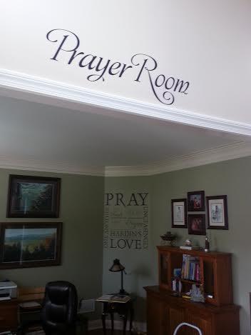 Prayer Room Wall Decal