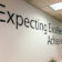 Expecting Excellence, Achieving Greatness Wall Decal