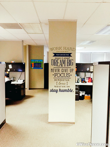 Work Hard Give Your Best Wall Decal