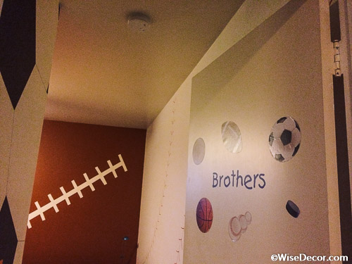Brothers Wall Decal