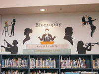Biography Wall Decal