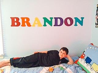 Brandon Wall Decal