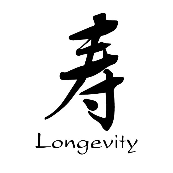 Longevity Chinese Characters Shou Caoshuengtrans 8