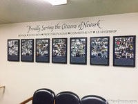 Proudly Serving the Citizens of Newark Wall Decal