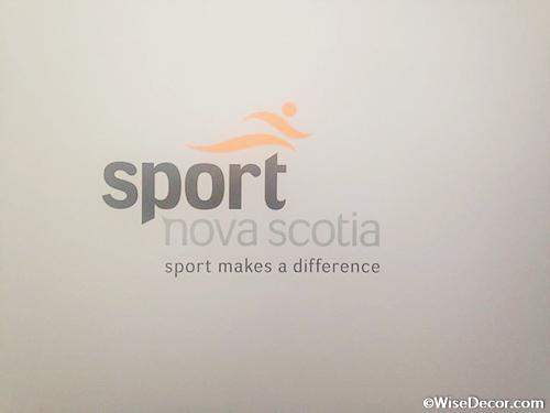 Sport Nova Scotia Wall Decal