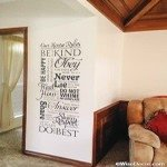 Scripture house rules