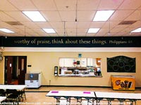 Worthy of praise, think about these things Wall Decal