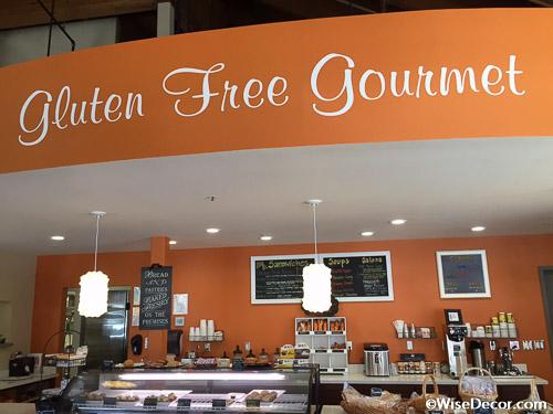 Gluten Free Gourmet Wall Decal