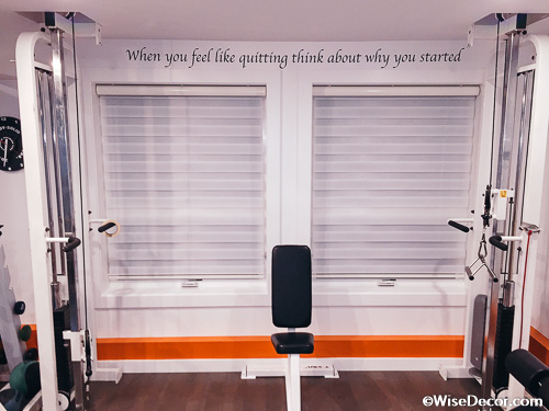 When you feel like quitting think about why you started Wall Decal