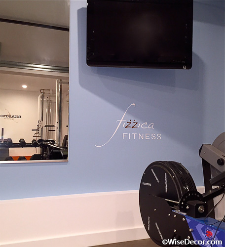 Fizzica Fitness Wall Decal
