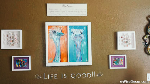 Life is Good Wall Decal