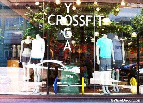 Crossfit Yoga Wall Decal