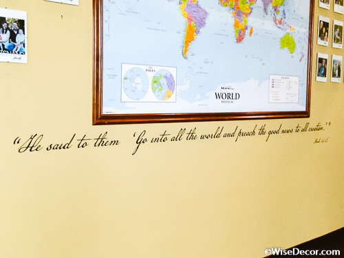 He said to them Wall Decal