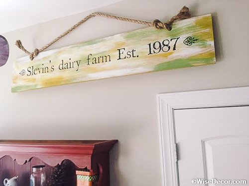 Slevin's dairy farm Wall Decal