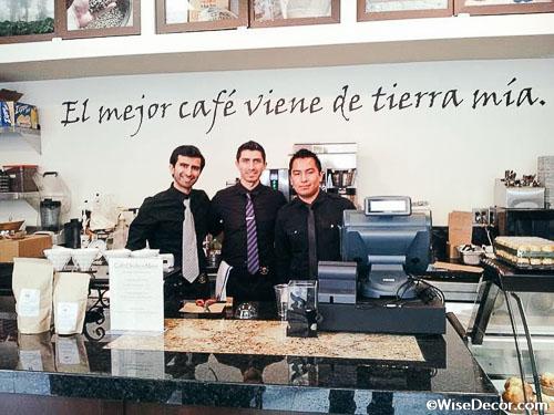 El mejor café Wall Decal