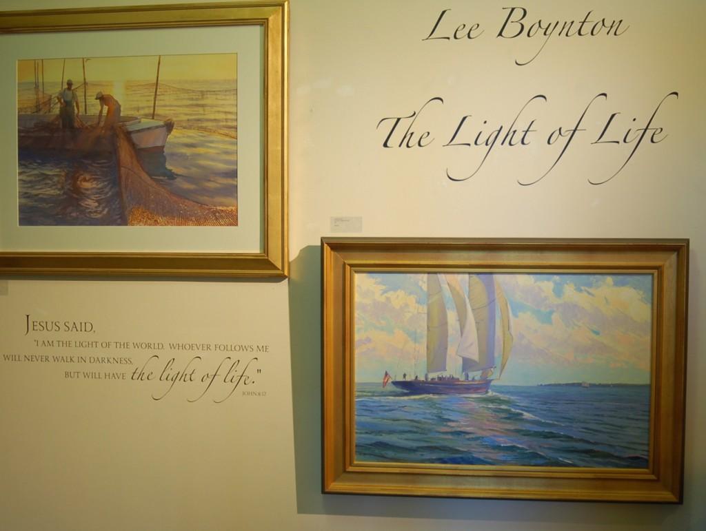 Lee Boynton The Light of Life Wall Decal