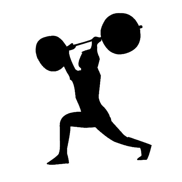 Man With Weights 2B LAK 2 2 R Wall Decal