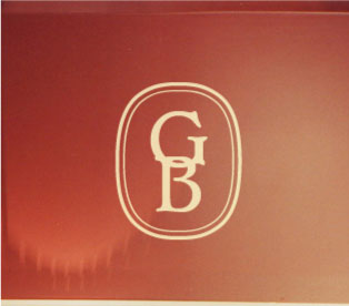Signet Oval Monogram Wall Decal