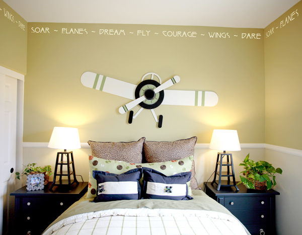 Soar Planes Dream Wall Decal
