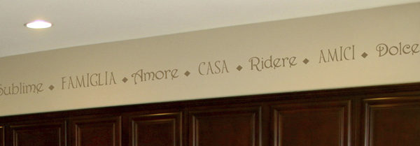 Sublime Famiglia Amore Wall Decal