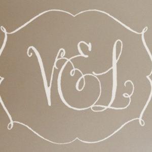 V&L Monogram Wall Decal