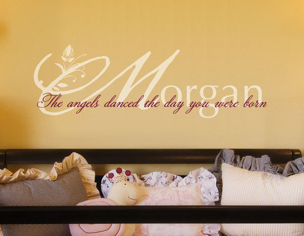 The angels danced Wall Decal