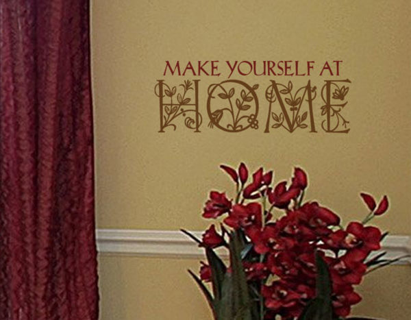 Make yourself at Wall Decal