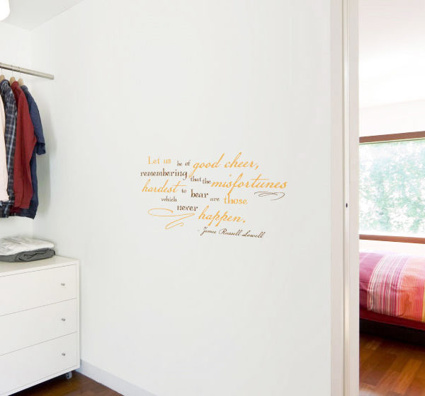 Let us be Wall Decal