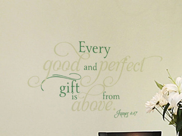 Every good and Wall Decal