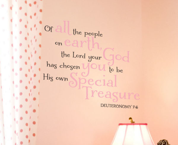 Of All the Wall Decal