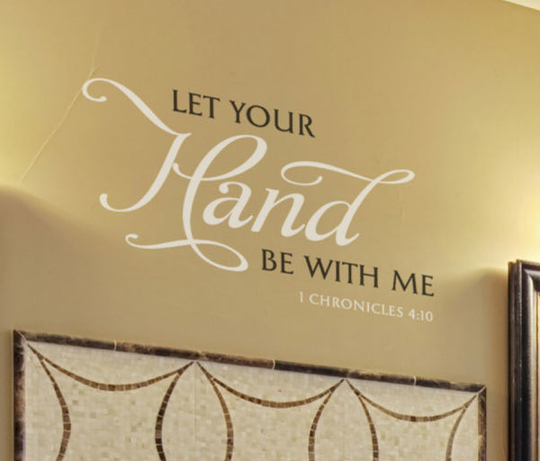 Let your Hand Wall Decal