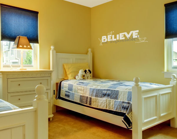 Believe the impossible Wall Decal