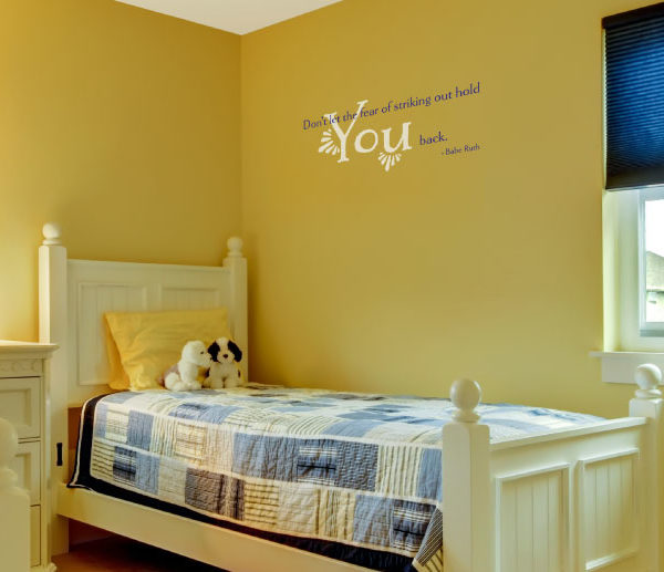 Don't let the Wall Decal