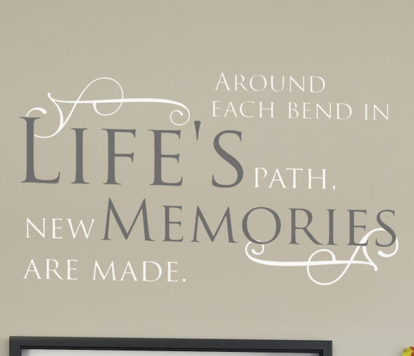 Around each bend Wall Decal