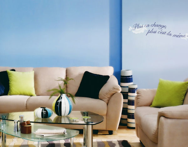 Plus ca change Wall Decal