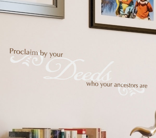 Proclaim by your Wall Decal