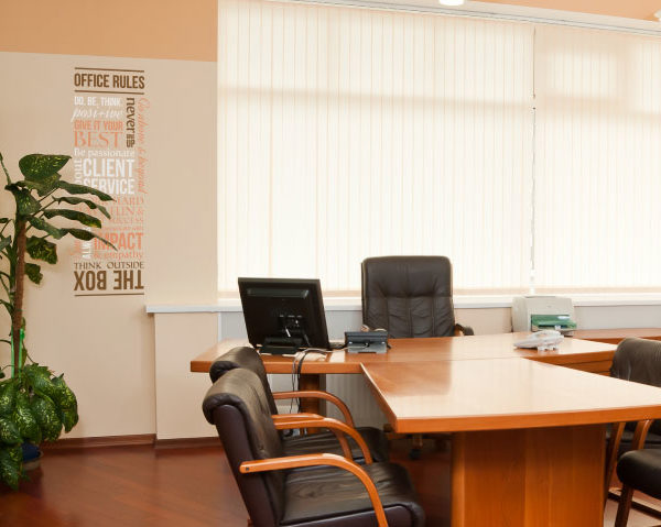 Client Office Rules version 3 Wall Decal