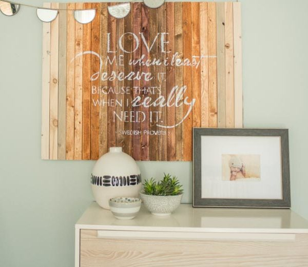 Love me when Wall Decal