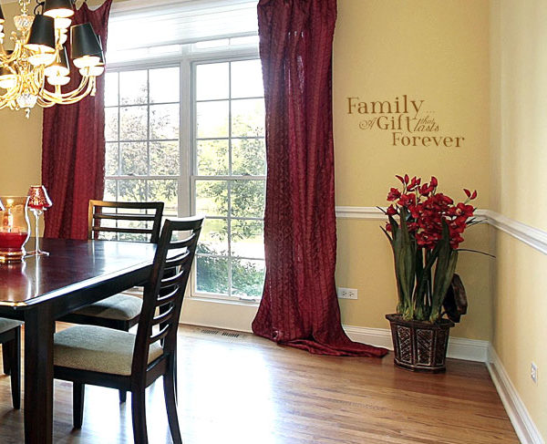 Family A gift Wall Decal